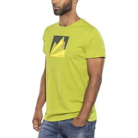 Millet M's Fan Mountain Short Sleeve Shirt green moss